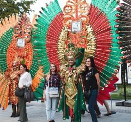 Второй  Фестиваль Индонезии в саду «Эрмитаж»