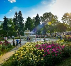 Открытие парков Москвы 2020