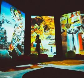 Акция: Три выставки «Ожившие полотна» по одному билету
