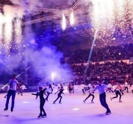 Выступления лучших фигуристов Москвы и России «Magic on ice» 2017