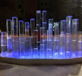 Интерактивный арт-объект «Ледяной орган» 2016