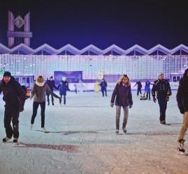 Каток «Лед» в парке «Сокольники» 2019/2020