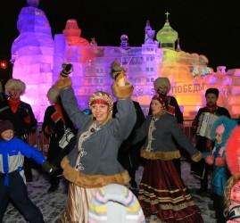 Масленица в «Ледовой Москве» на Поклонной горе 2017