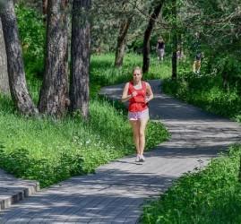 Беговые дорожки в парках Москвы 2020