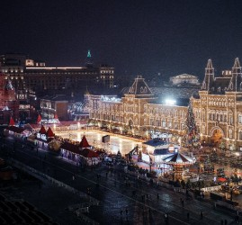 ГУМ-Каток на Красной площади 2019/2020