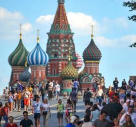 Акция «Москва — столица мирового футбола» 2018