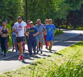 Бесплатные тренировки в парках Москвы «Спортивные выходные» 2020