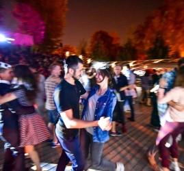 Танцы в Парке Горького 2018