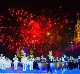 Военно-музыкальный фестиваль «Спасская башня» 2018
