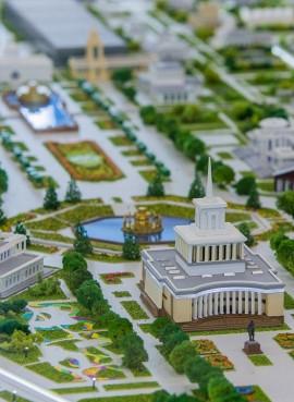 Архитектурный макет ВДНХ