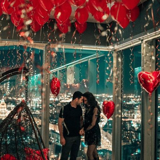 Романтическое свидание на 67 этаже