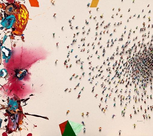 Выставка «Толпы»
