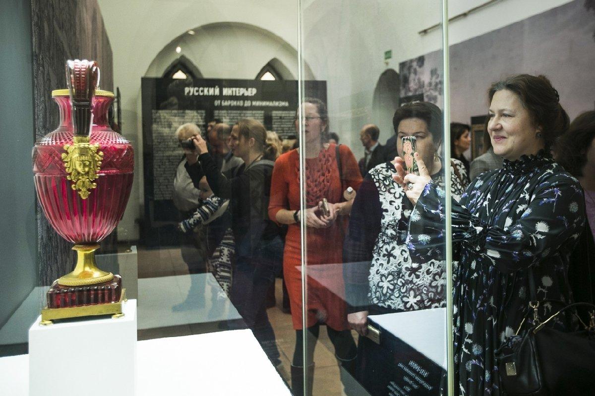 Выставка «Русский интерьер. Отбарокко доминимализма»