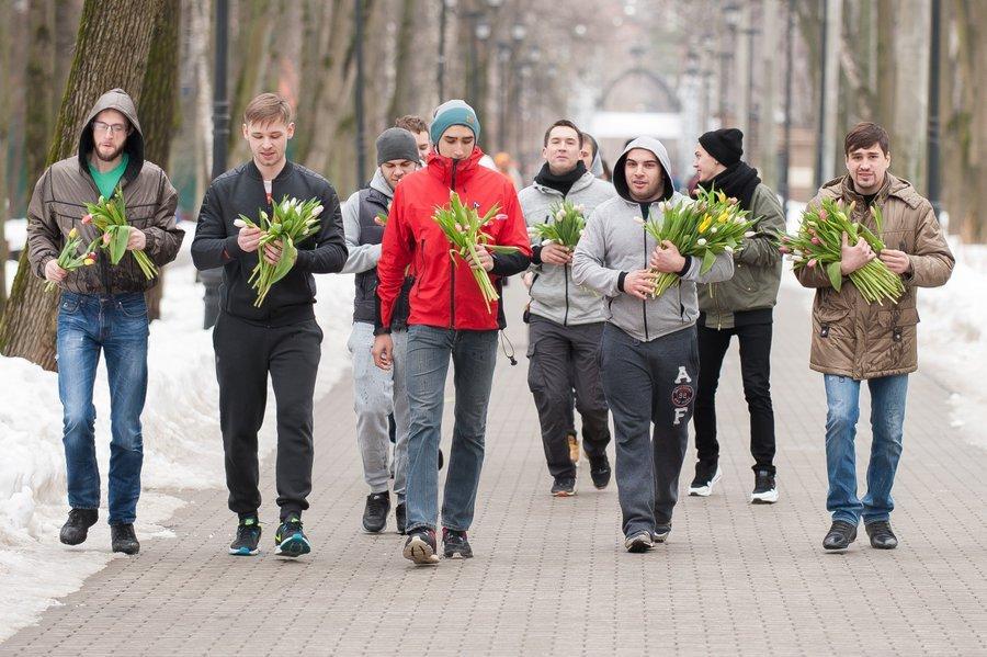 Международный женский день впарках Москвы 2018