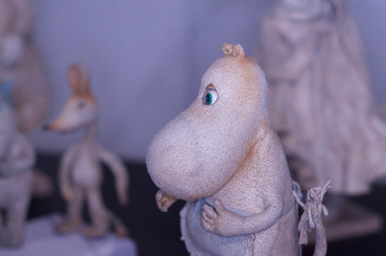 Выставка «Шляпа волшебника: Муми-Тролли идругие герои нашего детства»