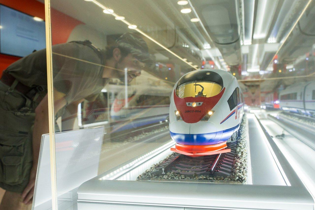 Выставка «Железные дороги России: сквозь время ирасстояния»