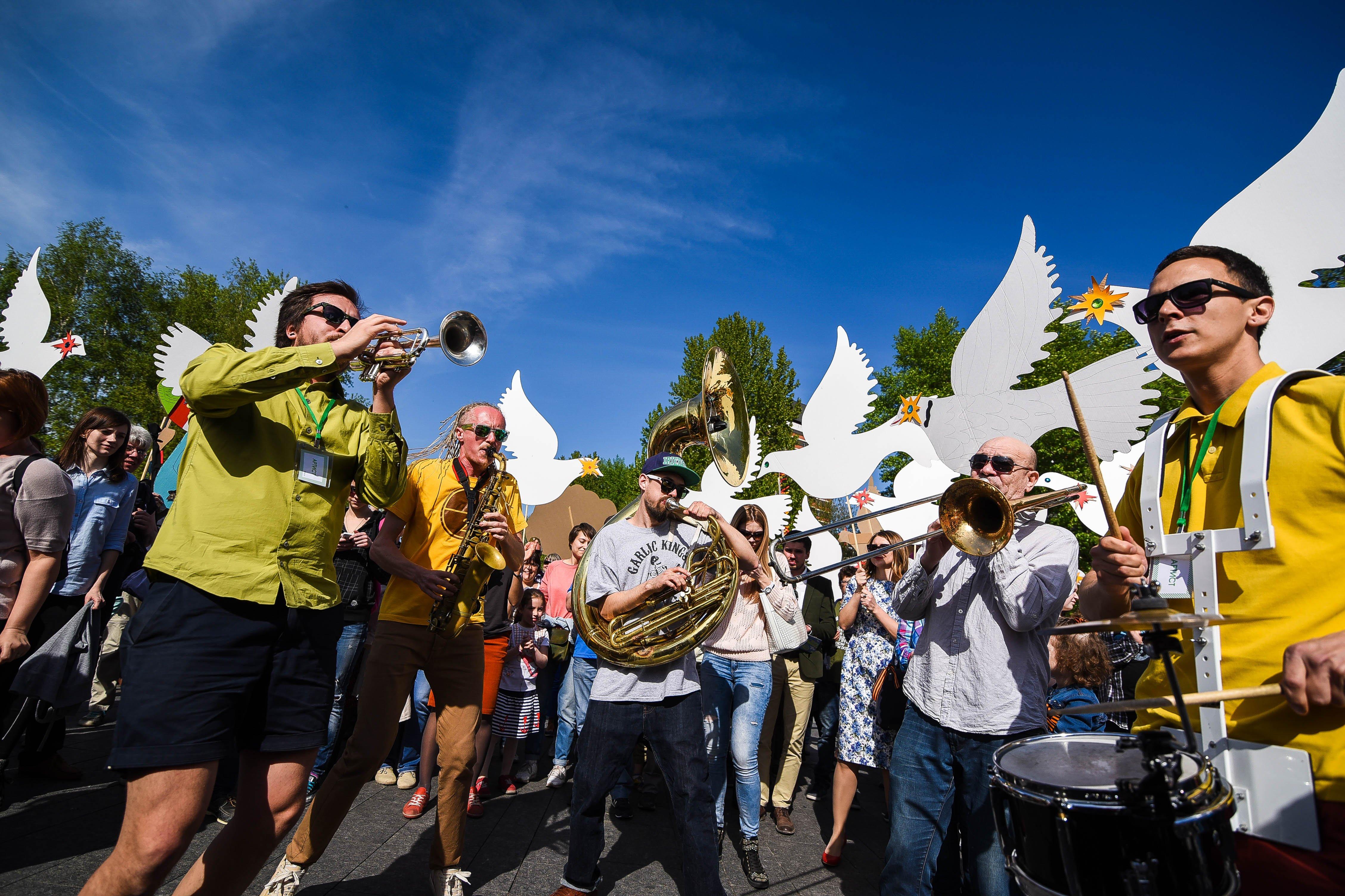 Фестиваль шагающих оркестров 2016