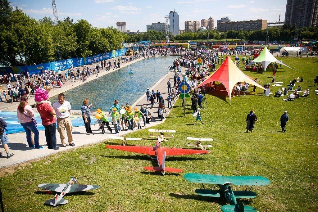 День города вМосковском Дворце пионеров 2017