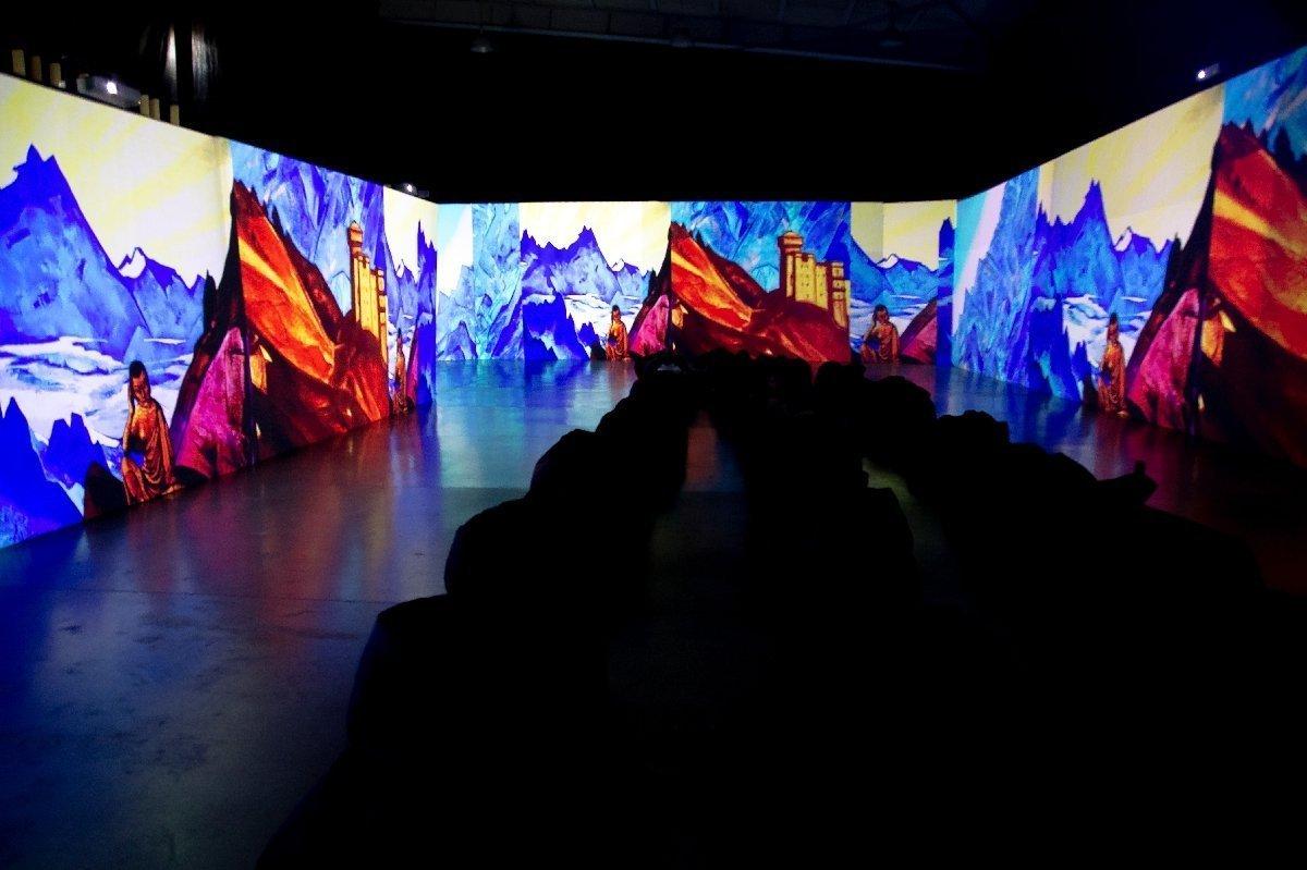 Выставка «Рерих иАйвазовский. Ожившие полотна»