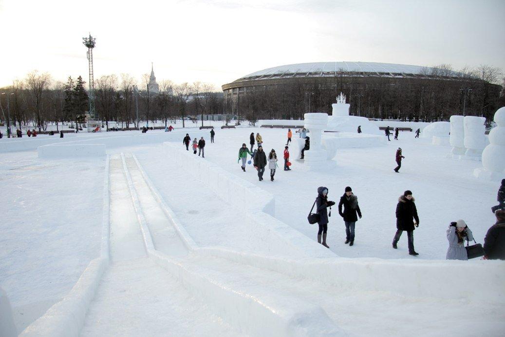 Зимний праздник «Russian Winter Megadance» 2015
