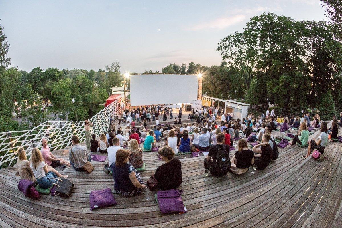 Летний кинотеатр «Пионер» в«Музеоне» 2019