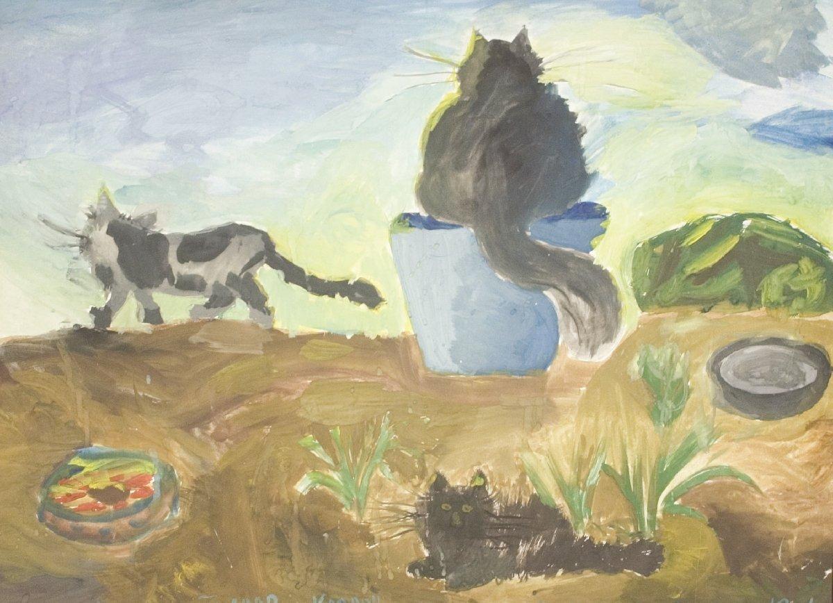 Выставка «Экология итворчество»