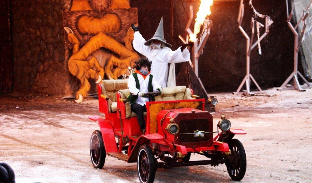 Новогодняя елка каскадеров Мастера Панина «Властелин колец»