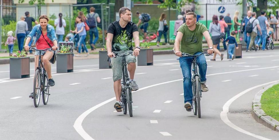 Веломаршруты впарках Москвы 2020