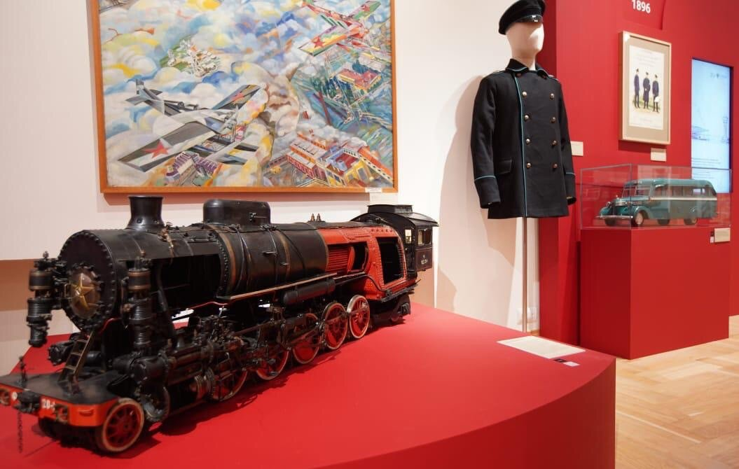 Выставка «Транспорт России. Сквозь время– вбудущее»