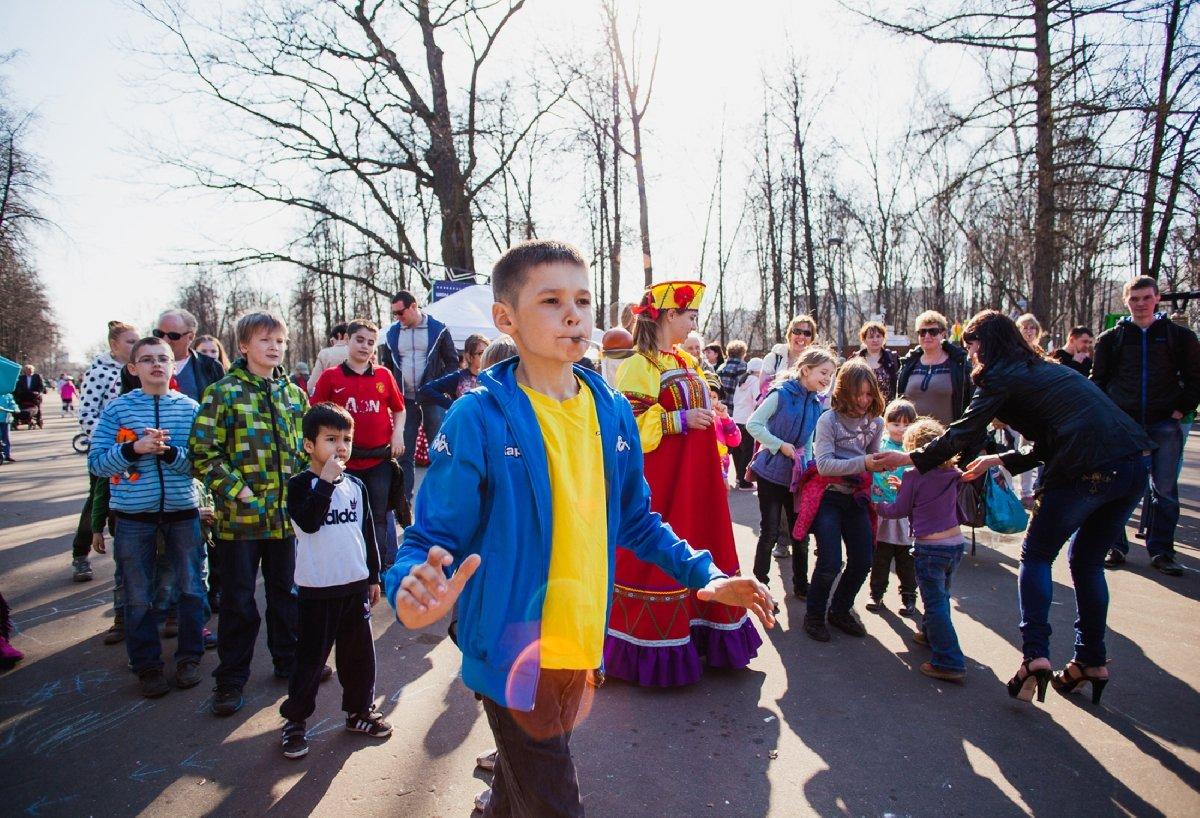 Пасха вПеровском парке 2018