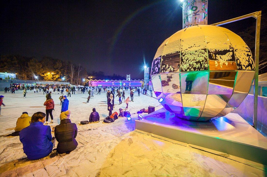 62856f63 ... Новый год 2016 в парке «Сокольники» фотографии ...