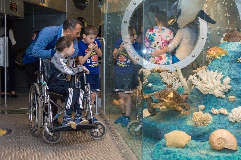 Международный день защиты детей вДарвиновском музее 2019