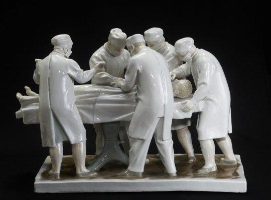 Выставка «Пластическое чудо. Фарфор А. Г. Сотникова»