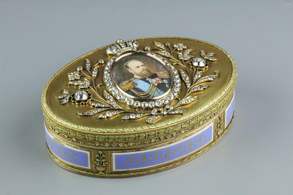 Выставка «Национальные сокровища России»
