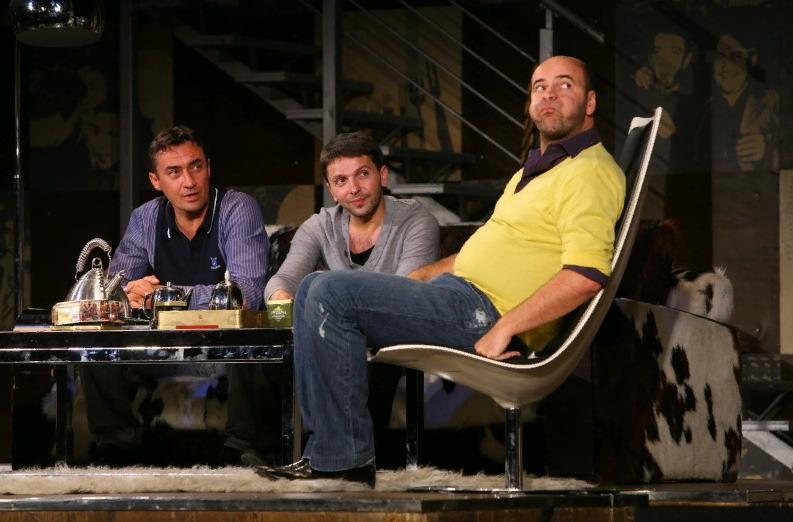 Спектакль «Разговоры мужчин среднего возраста»