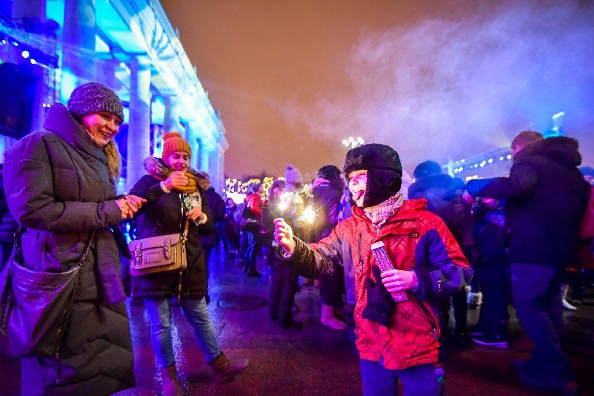 Новогодняя ночь вПарке Горького 2018