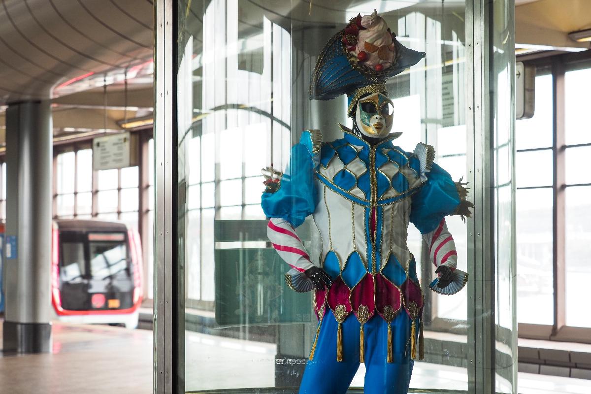 Выставка вчесть 50-летия Большого Московского цирка