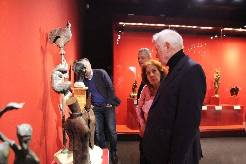 Выставка «Метаморфозы. Образ ипространство вмосковской скульптуре»