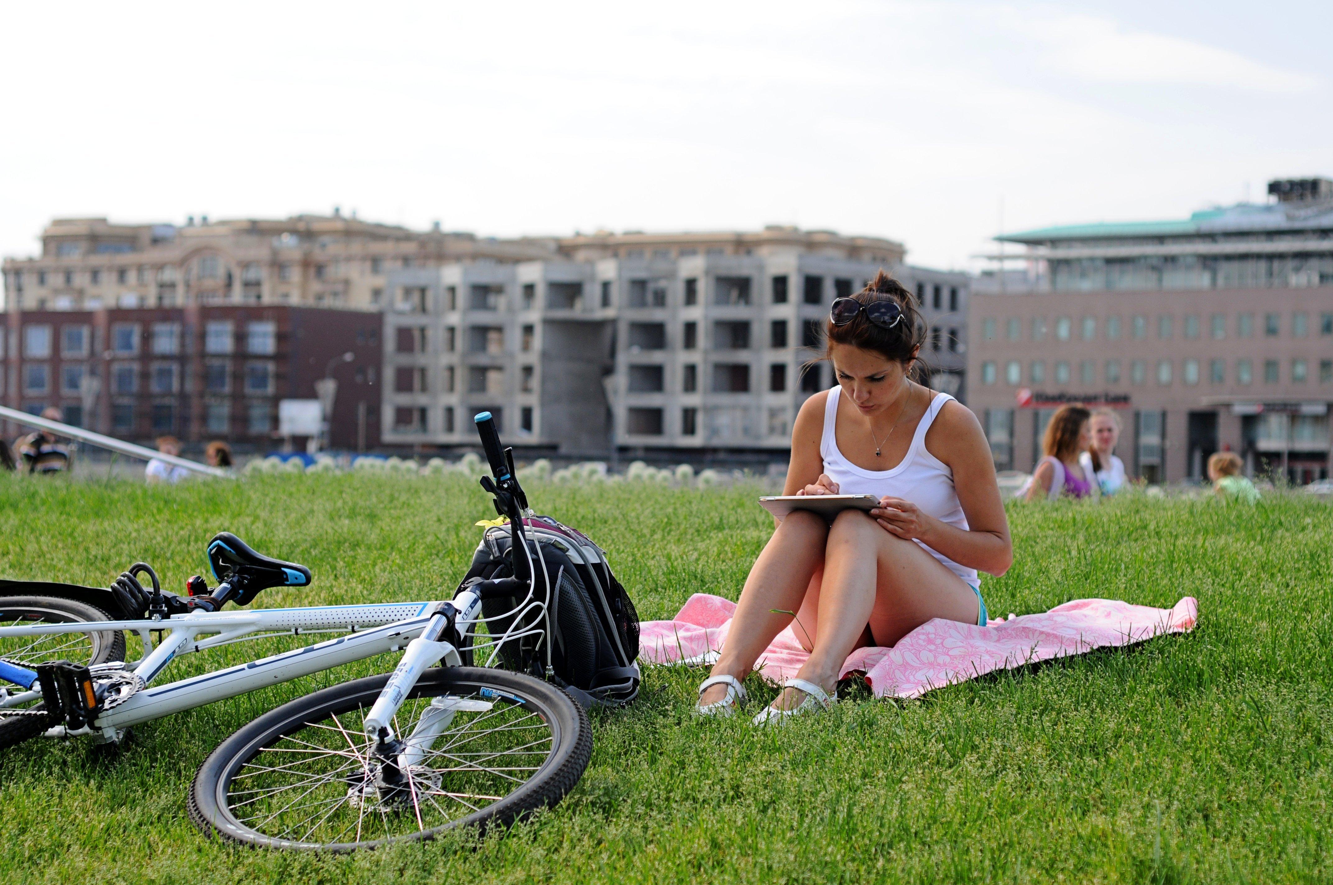 Велосипедная экскурсия поМоскве