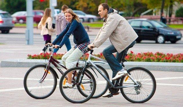Велоэкскурсия поМоскве