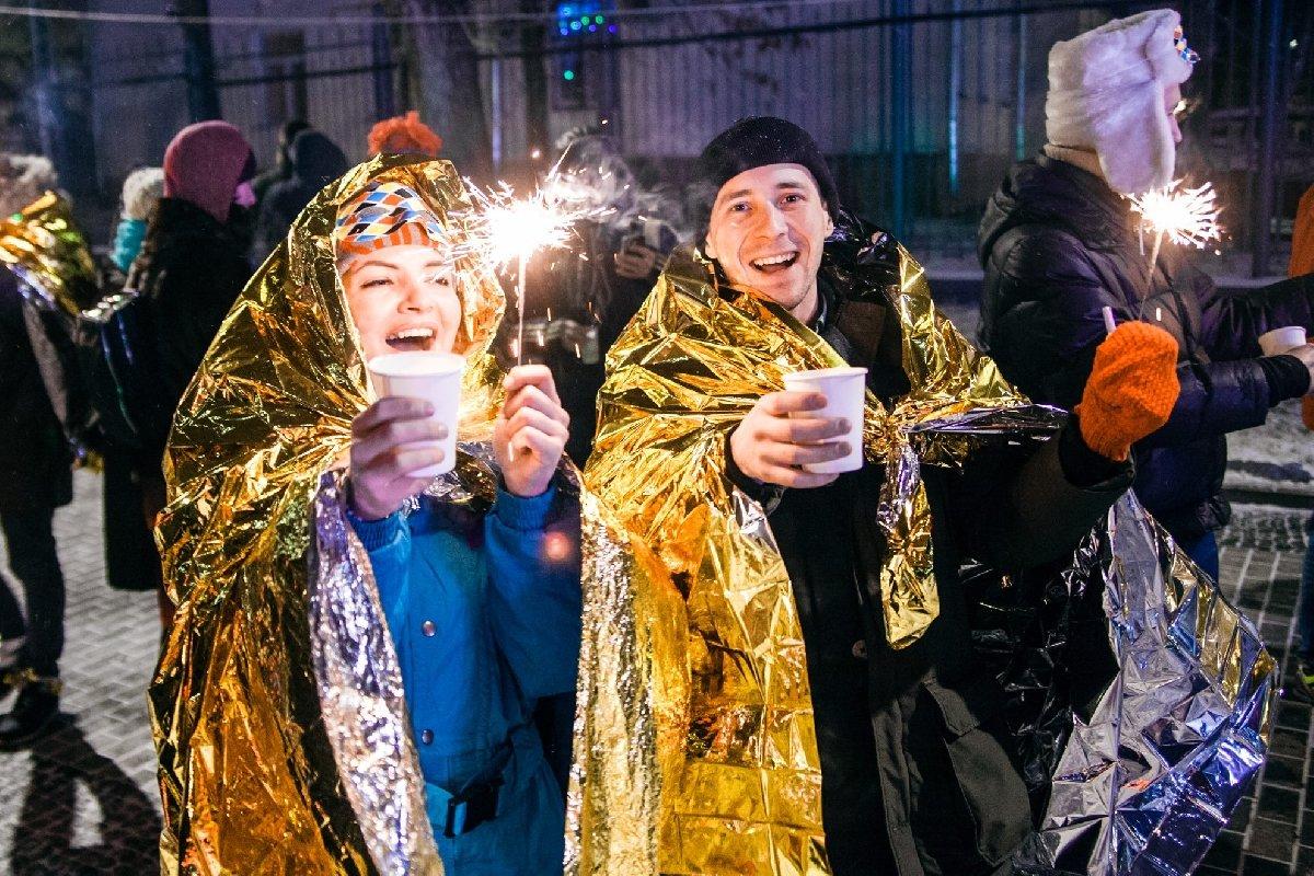 Новогодняя ночь вСаду им. Баумана 2020
