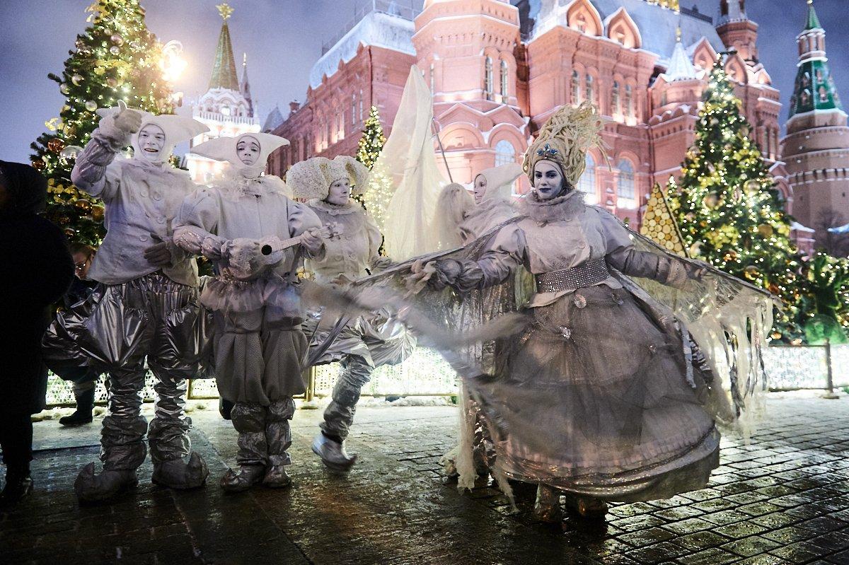 Фестиваль уличных театров «Новый год иРождество» 2020
