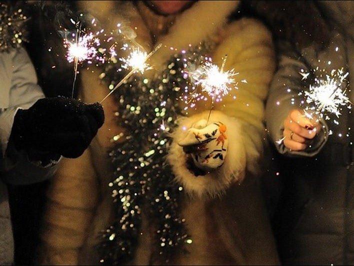 Новогодняя ночь 2016 впарке «Сиреневый сад»