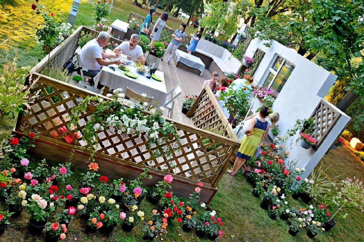 Фестиваль садов ицветов «Moscow Flower Show» 2017