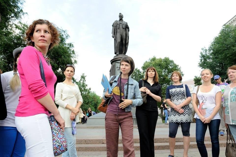 Пешеходные экскурсии «Маяковский— меж двух миров»