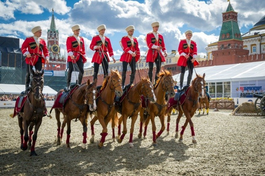 Выступления Кремлевской школы верховой езды 2017
