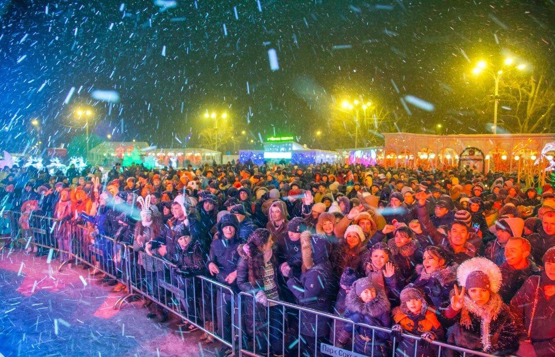 Открытие зимнего сезона впарке «Сокольники» 2016