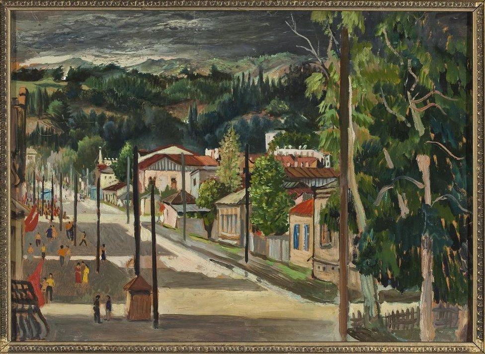 Выставка «Грузинские палестины» Святослава Рихтера»