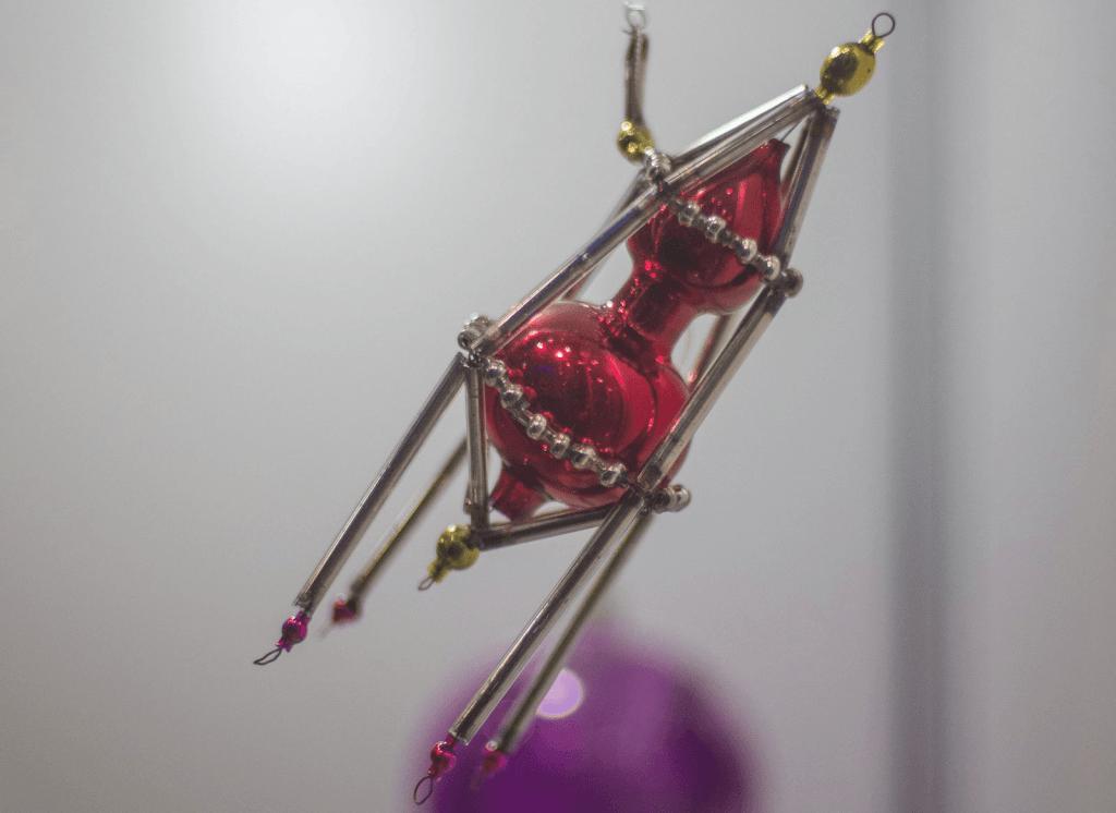 Выставка раритетных новогодних игрушек вПланетарии