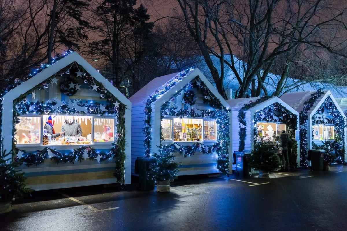 Рождественская ярмарка наВДНХ 2016